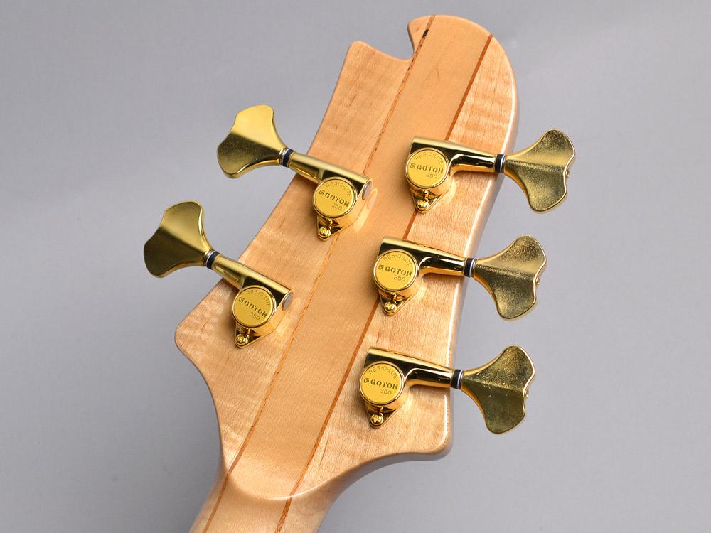 NB5HR EM/ASH Bat inray【Luthier's Model】のヘッド裏-アップ画像