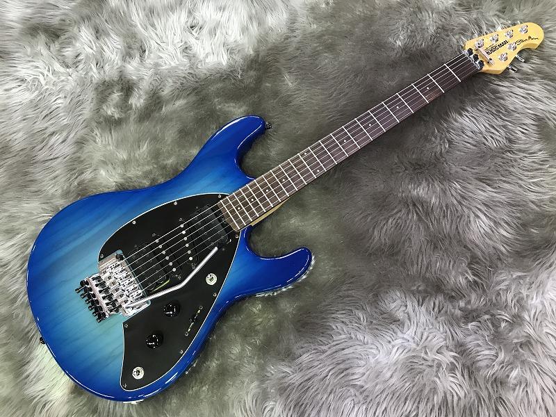 Steve Morse -Mose Blue Burst-のボディトップ-アップ画像