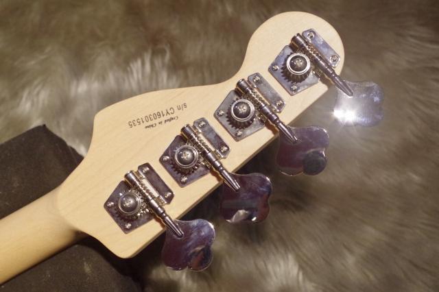 AFFINITY PJ BASSのヘッド裏-アップ画像