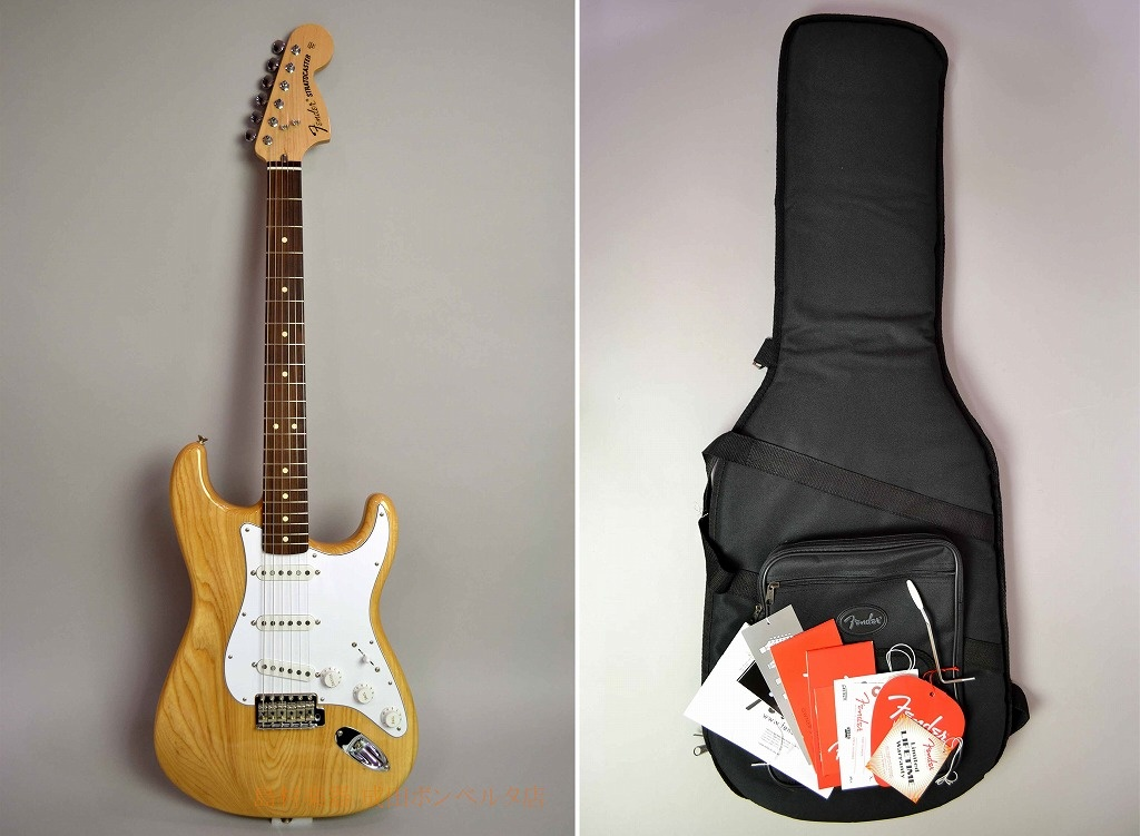 Classic Series 70s Stratocasterの全体画像(縦)