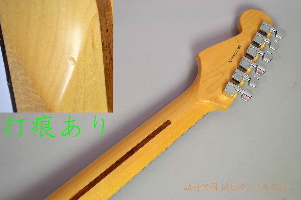 American Standard Stratocaster Upgradeのヘッド裏-アップ画像