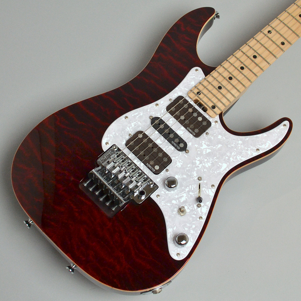 SD-2-24-BW/M(See-Through Red)のボディトップ-アップ画像
