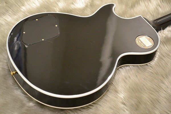 Les Paul Customのボディバック-アップ画像