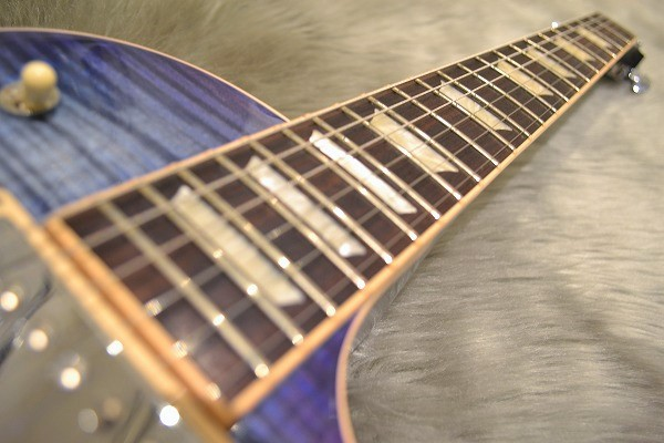 Les Paul Standard T 2017 Blueberry Burstの指板画像