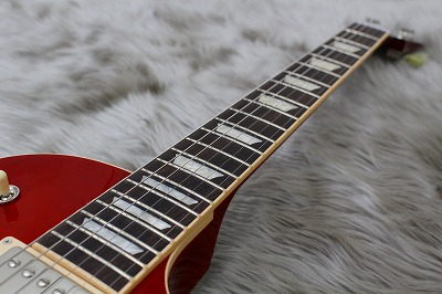 Les Paul traditional 2017 Tの指板画像