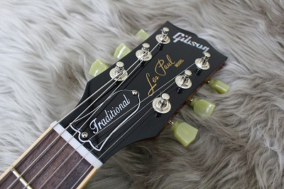 Les Paul traditional 2017 Tのヘッド画像