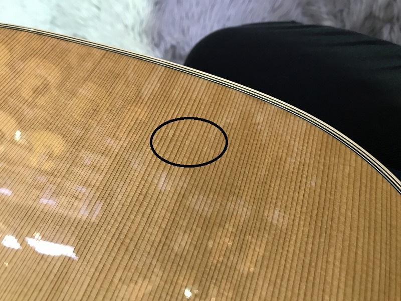 SOLO STANDARD/Cの指板画像
