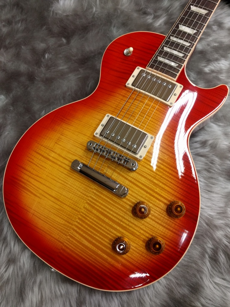 Gibson Les Paul Standard 2017のボディトップ-アップ画像