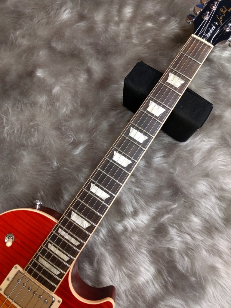 Gibson Les Paul Standard 2017の指板画像