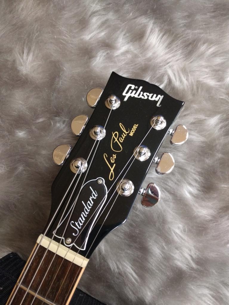Gibson Les Paul Standard 2017のヘッド画像