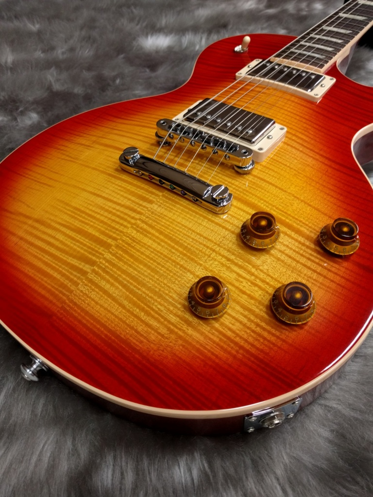 Gibson Les Paul Standard 2017の全体画像(縦)