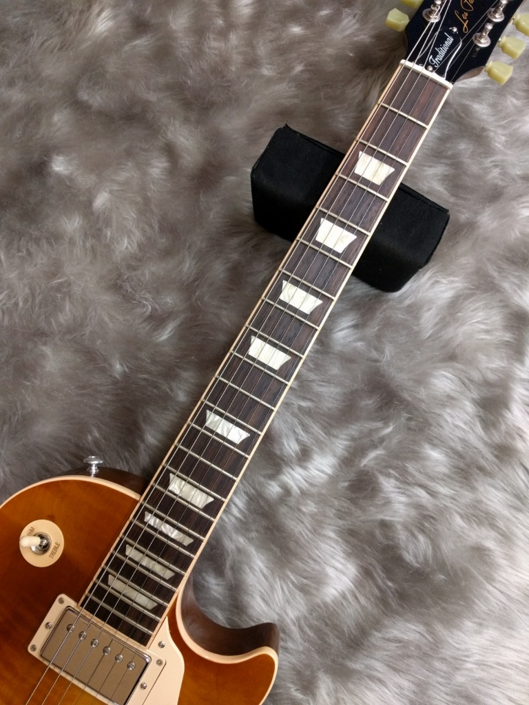 GIbson Les Paul Traditional 2016の指板画像