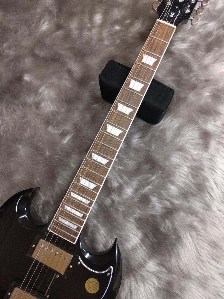 Gibson SG Standard 2017 Ebonyのヘッド画像