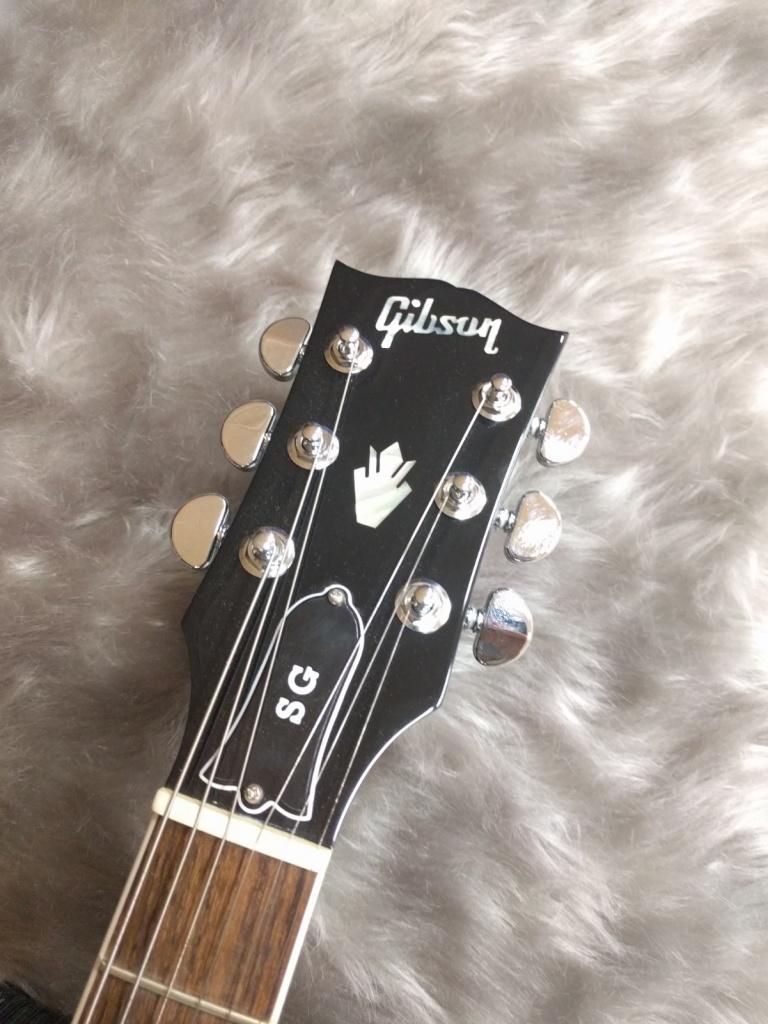 Gibson SG Standard 2017 Ebonyの指板画像