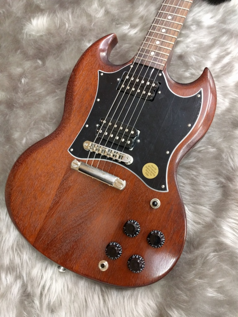Gibson SG Faded2017のボディトップ-アップ画像