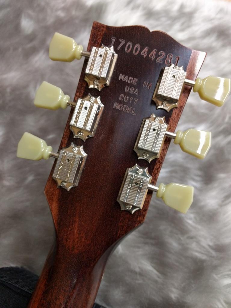 Gibson SG Faded2017のヘッド裏-アップ画像