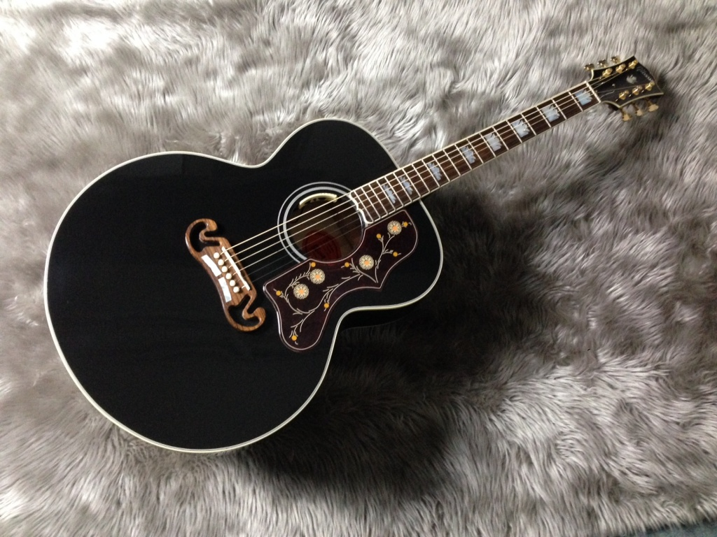 LTD SJ-200 EBONY