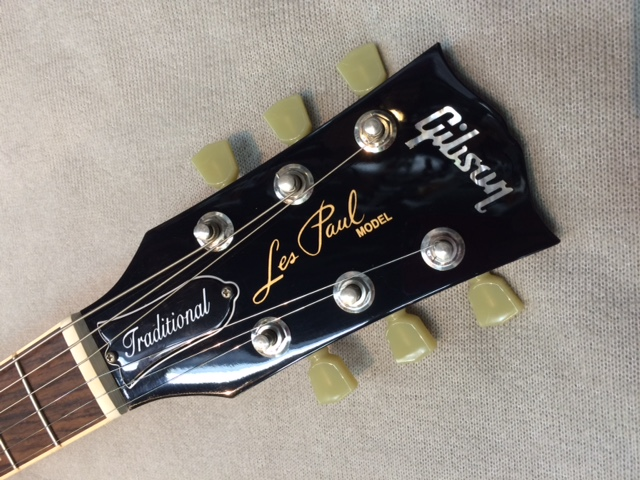 Les Paul Traditional 2016のヘッド画像