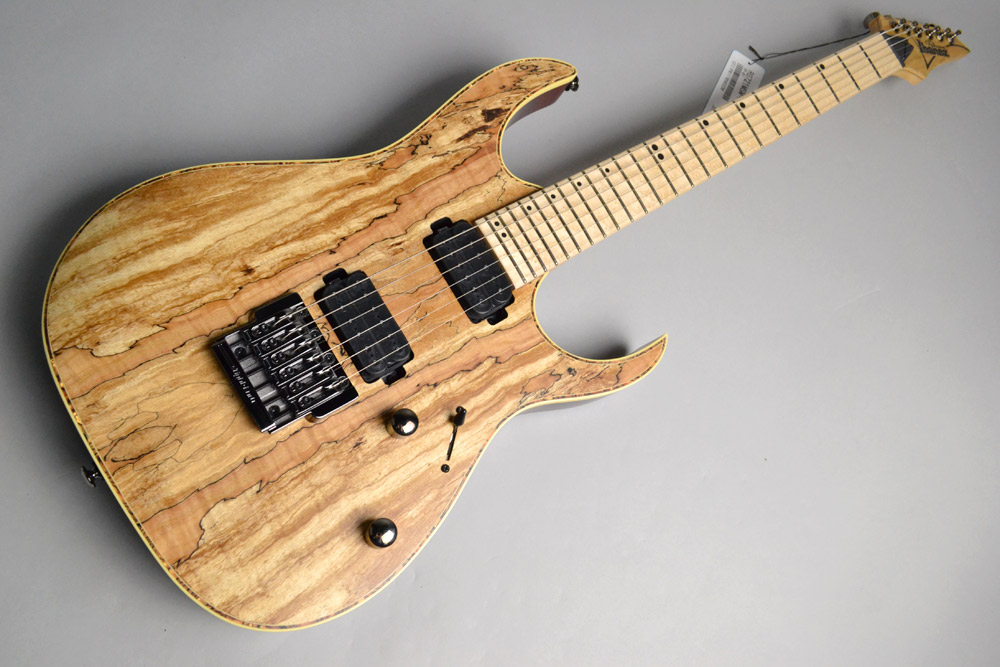 RG721MSM Natural Flat Spalted Maple Top