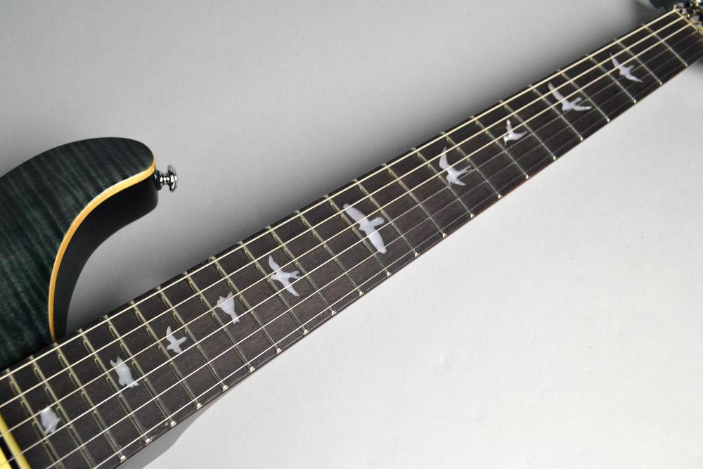 SE Floyd Custom 24 N/ GB Grey Blackの指板画像