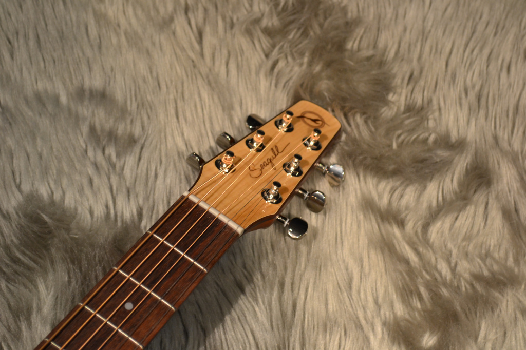Performer Cutaway Flame Maple High-Gloss Quantumのヘッド画像
