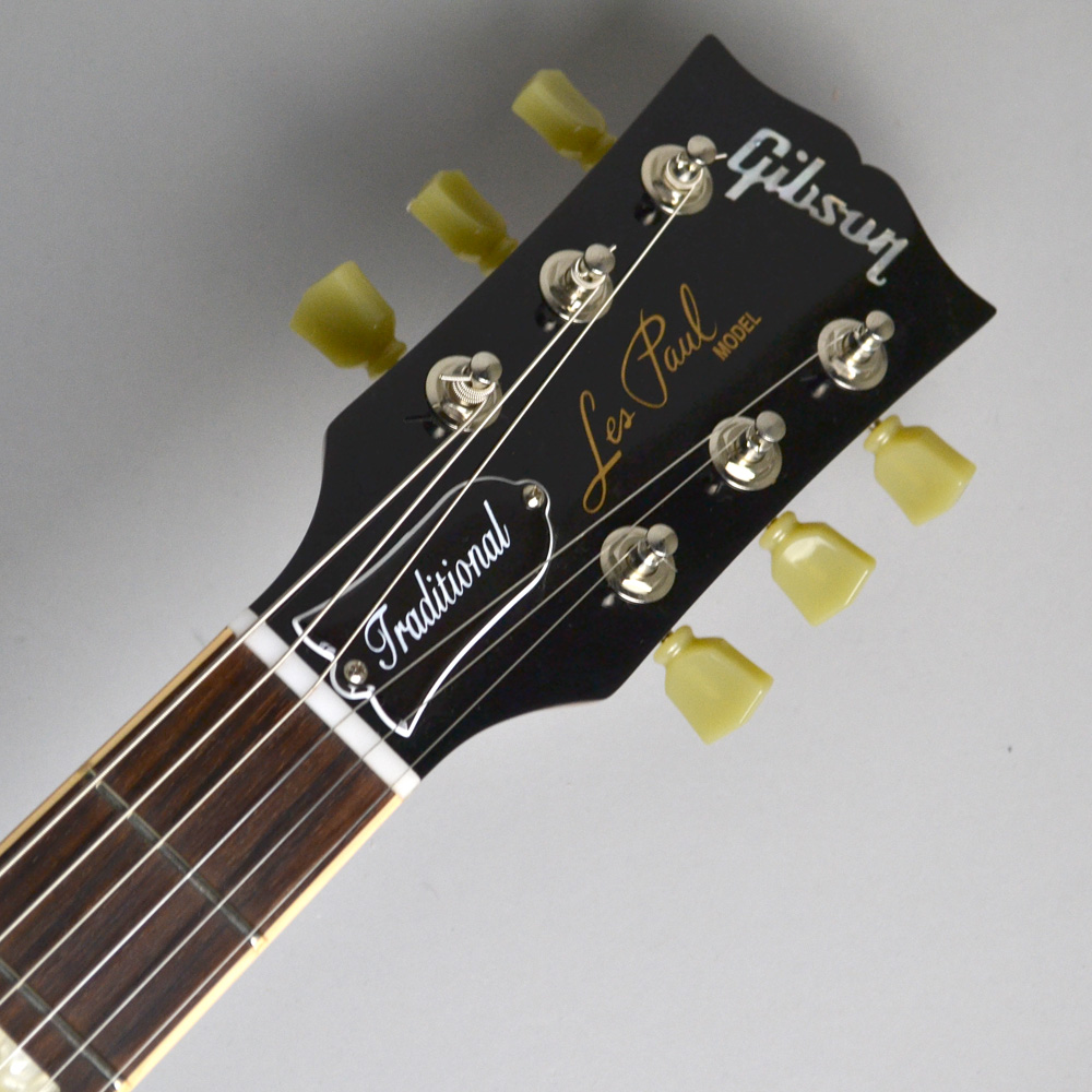 Les Paul Traditional T 2017 Honey Burstのヘッド画像