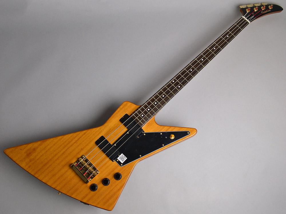 Ltd. Ed. Korina Explorer Bassのボディトップ-アップ画像