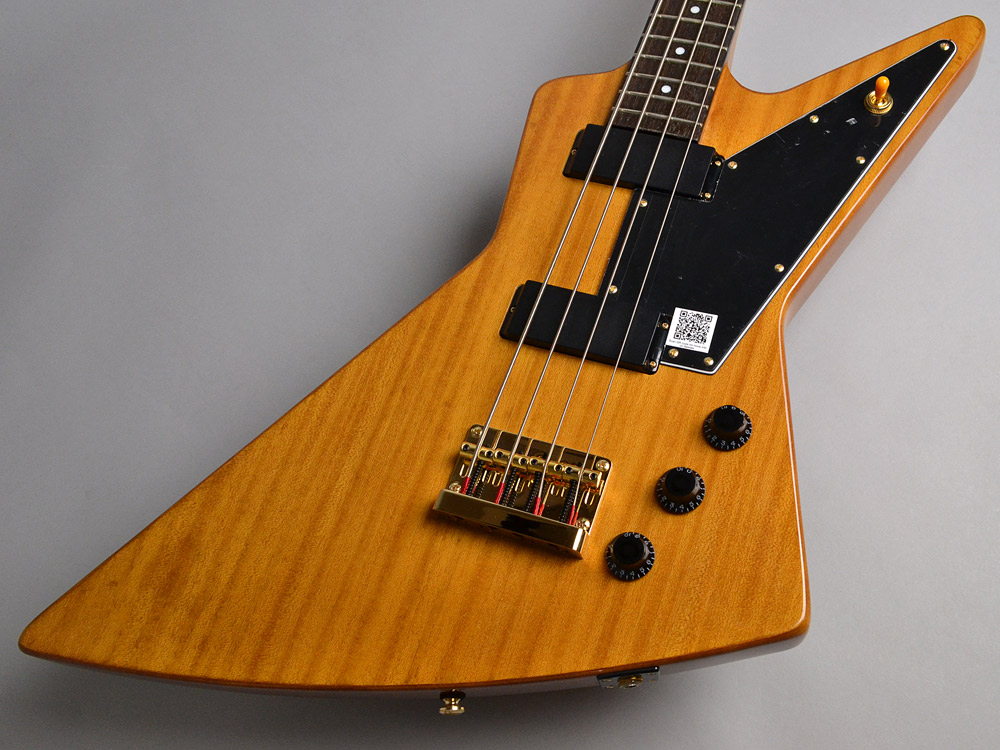 Ltd. Ed. Korina Explorer Bass