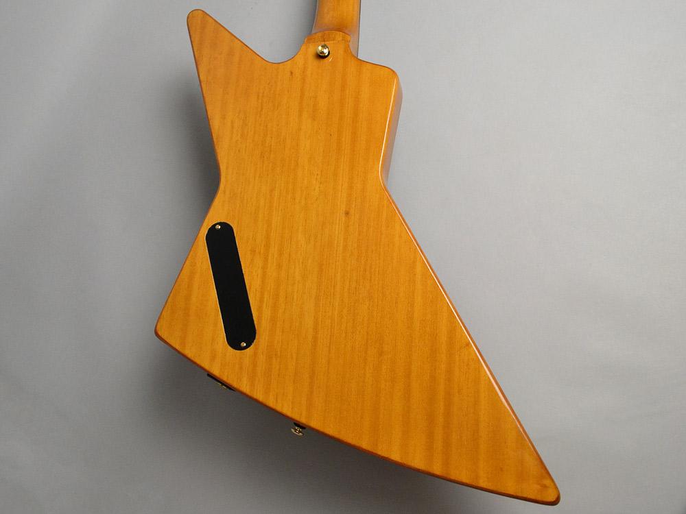 Ltd. Ed. Korina Explorer Bassのボディバック-アップ画像
