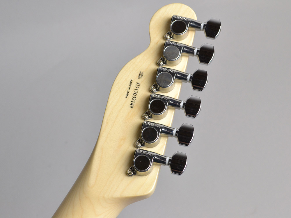 Made in Japan Traditional 70s Telecaster Customのヘッド裏-アップ画像