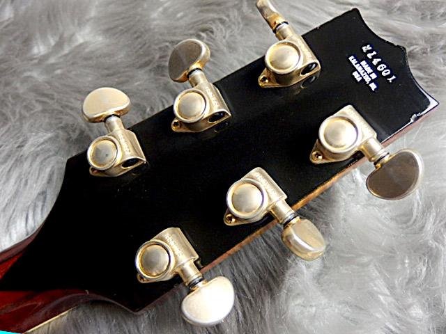 SWEET 16 1996年製フルアコギターのヘッド裏-アップ画像