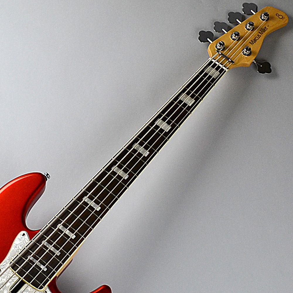 V7-5st/Alder/Bright Metalic Redのボディトップ-アップ画像