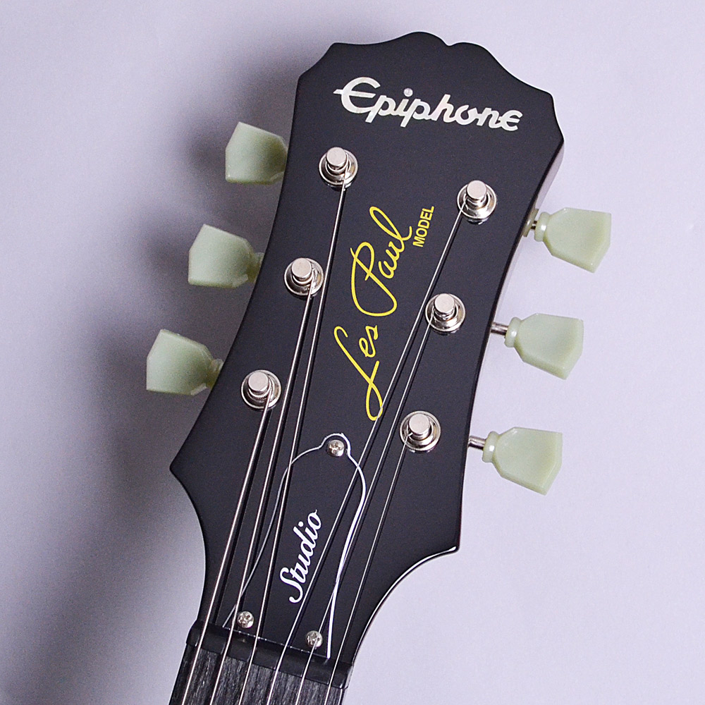Limited Les Paul Studio Deluxe Wine Redのヘッド画像