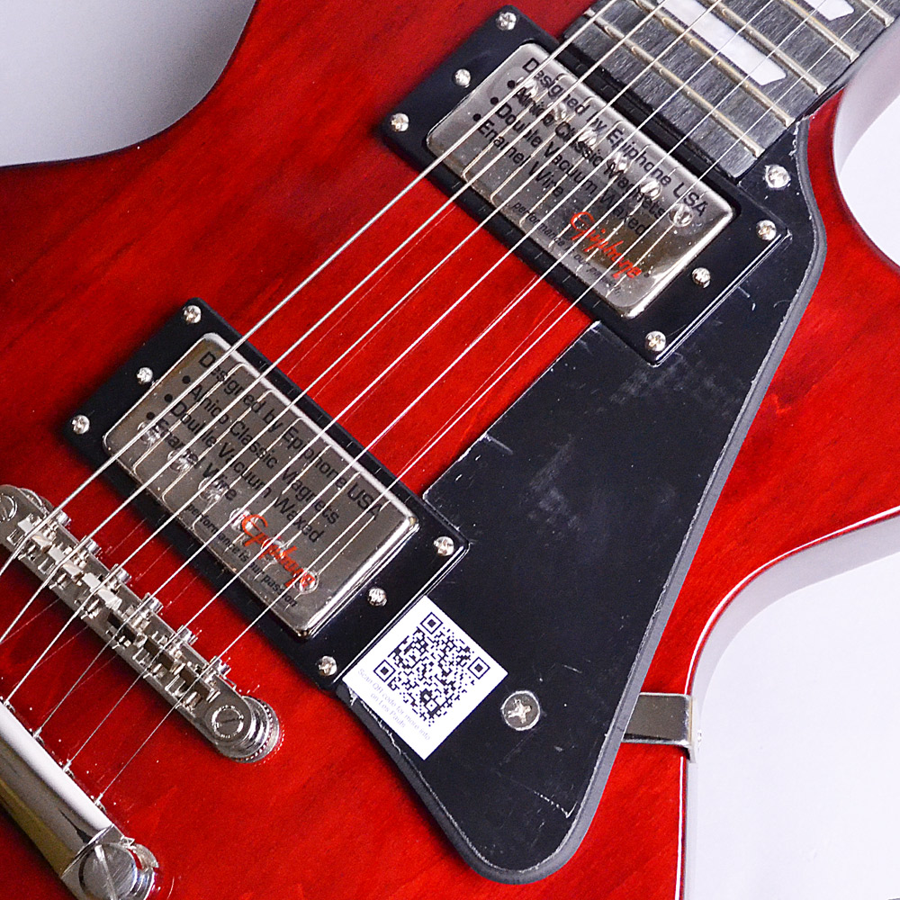 Limited Les Paul Studio Deluxe Wine Redの指板画像