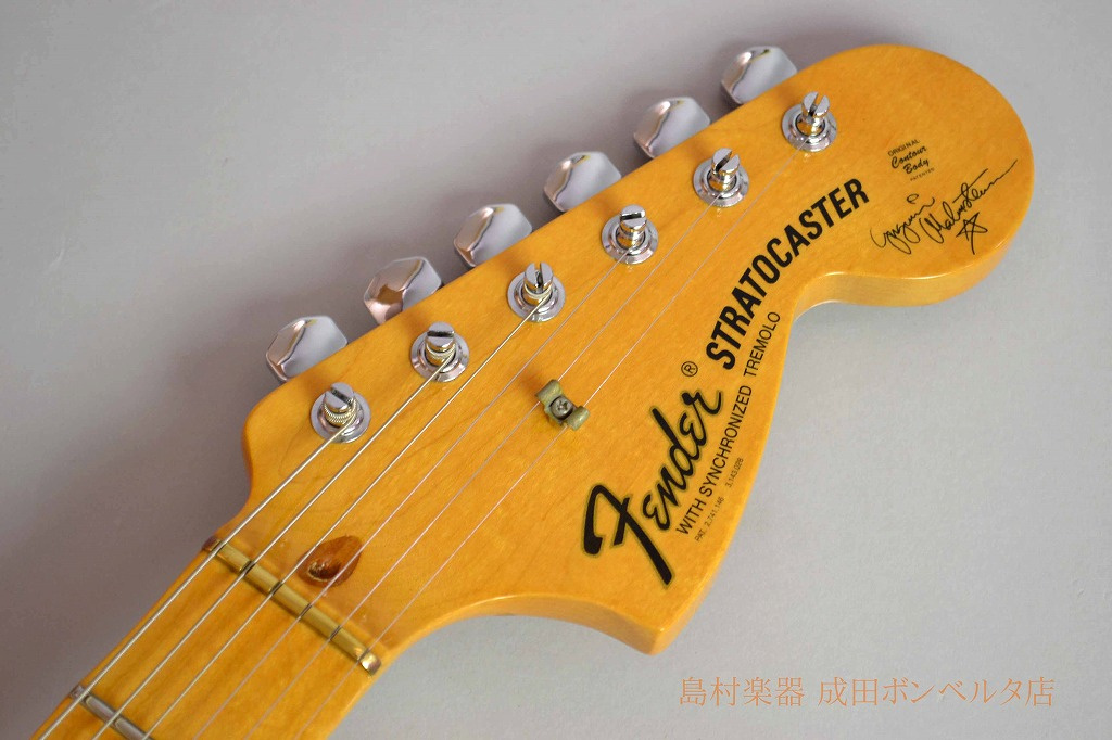 Yngwie Malmsteen Stratocasterのヘッド画像