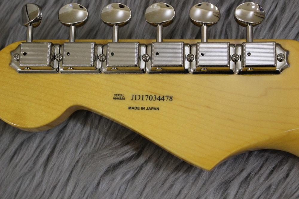 TRADITIONAL 50S STRATOCASTER(2TSB)のヘッド裏-アップ画像