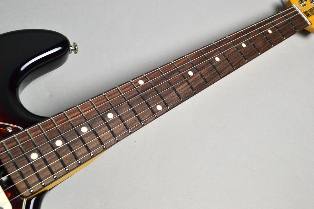Cutlas Vintage Sunburst Rosewood Fingerboardの指板画像
