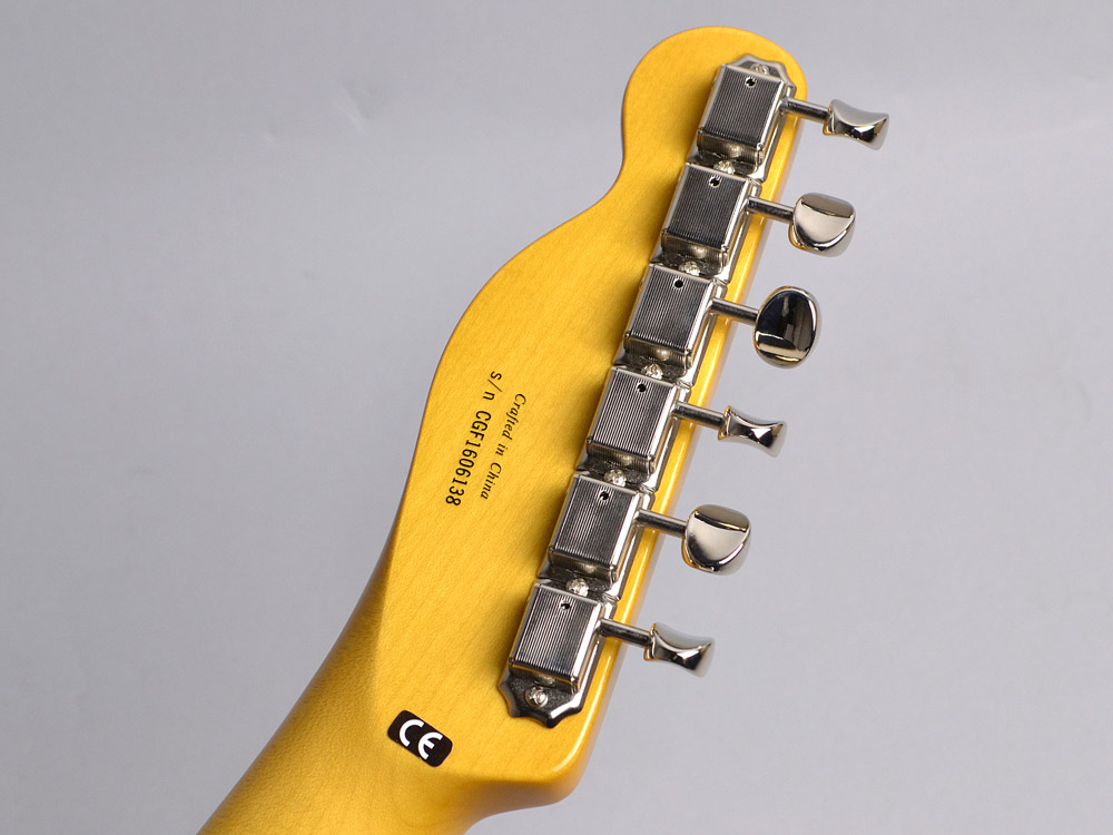 Modern Player Telecaster Thinline Deluxeのヘッド裏-アップ画像