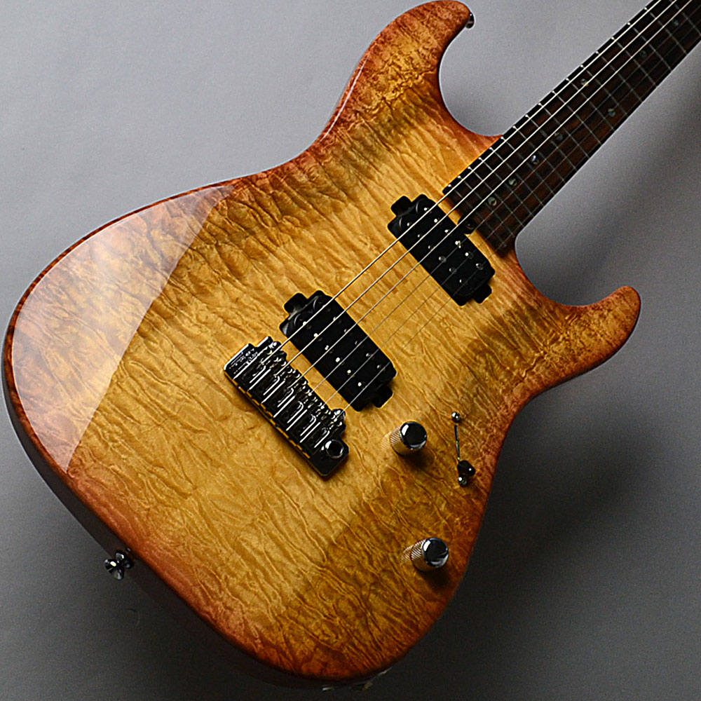 DST-22 Custom/2tone Quilt Maple/Tea Burst