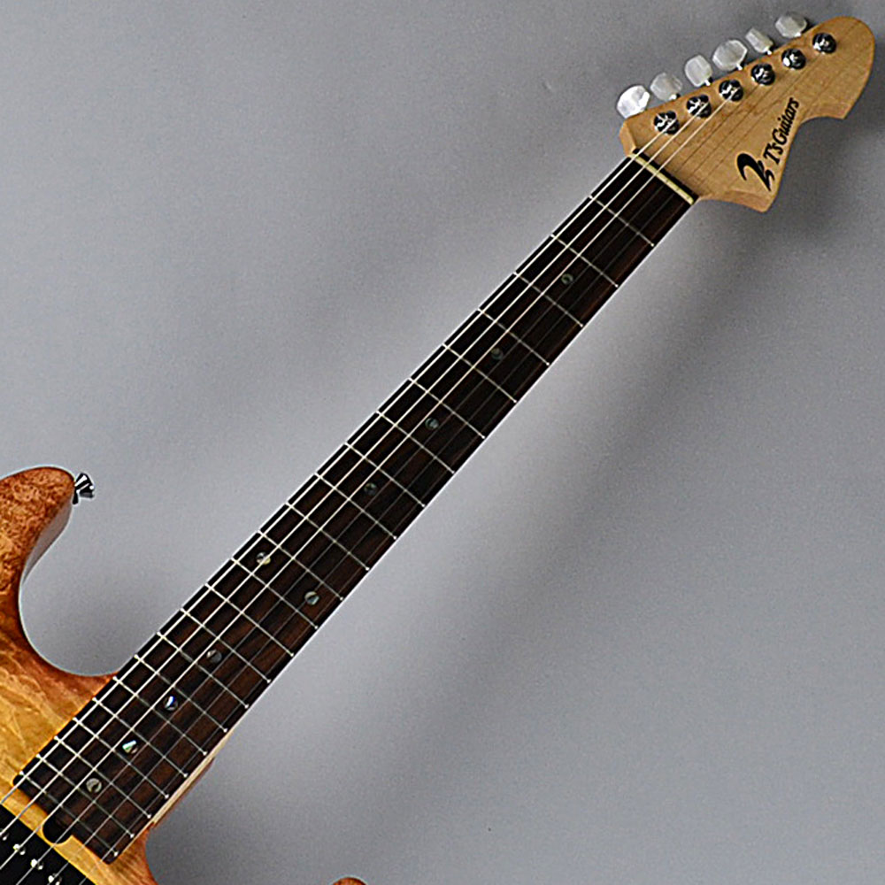 DST-22 Custom/2tone Quilt Maple/Tea Burstのヘッド画像
