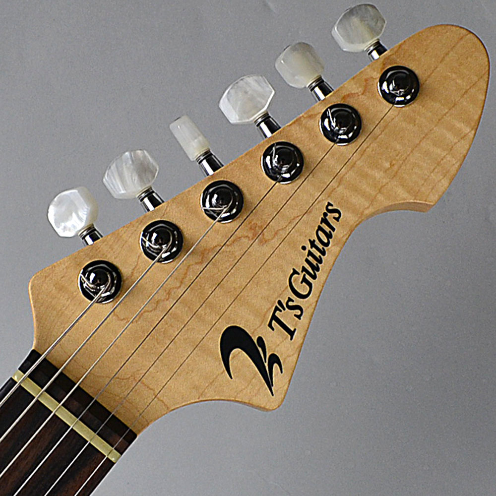 DST-22 Custom/2tone Quilt Maple/Tea Burstのヘッド裏-アップ画像