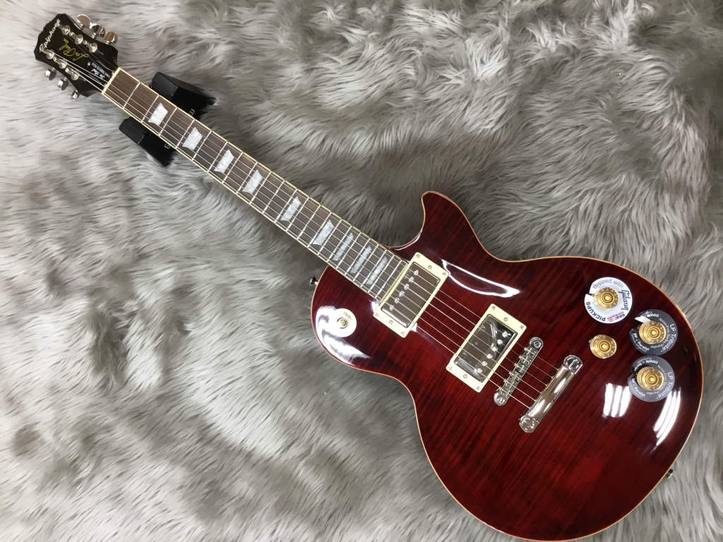 Les Paul Tribute Plus Outfit Black Cherryのボディバック-アップ画像