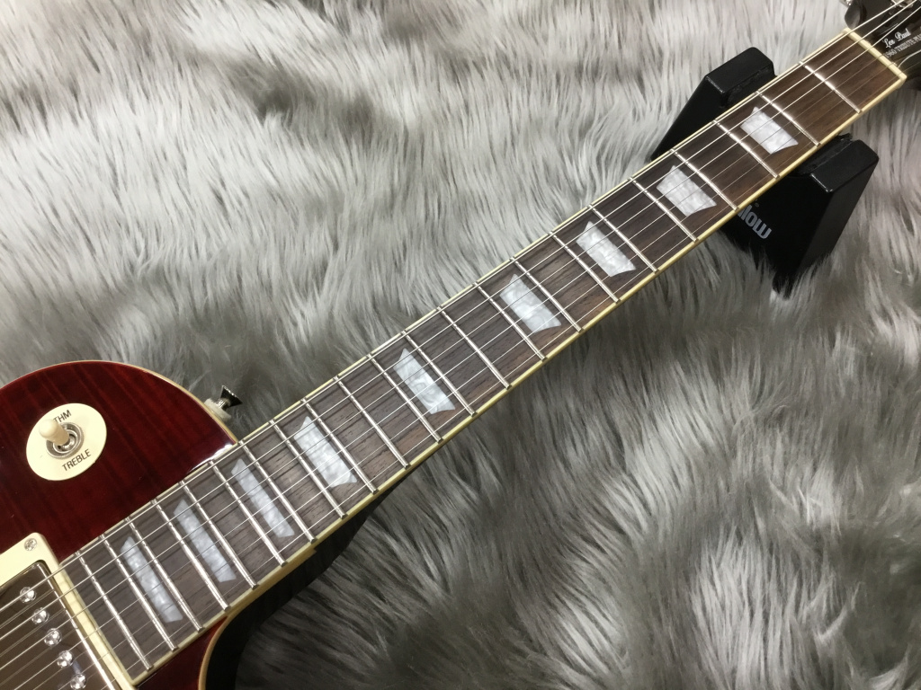Les Paul Tribute Plus Outfit Black Cherryのヘッド画像