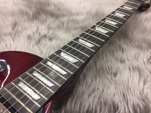 Limited Les Paul Studio Deluxe Wine Redのボディバック-アップ画像