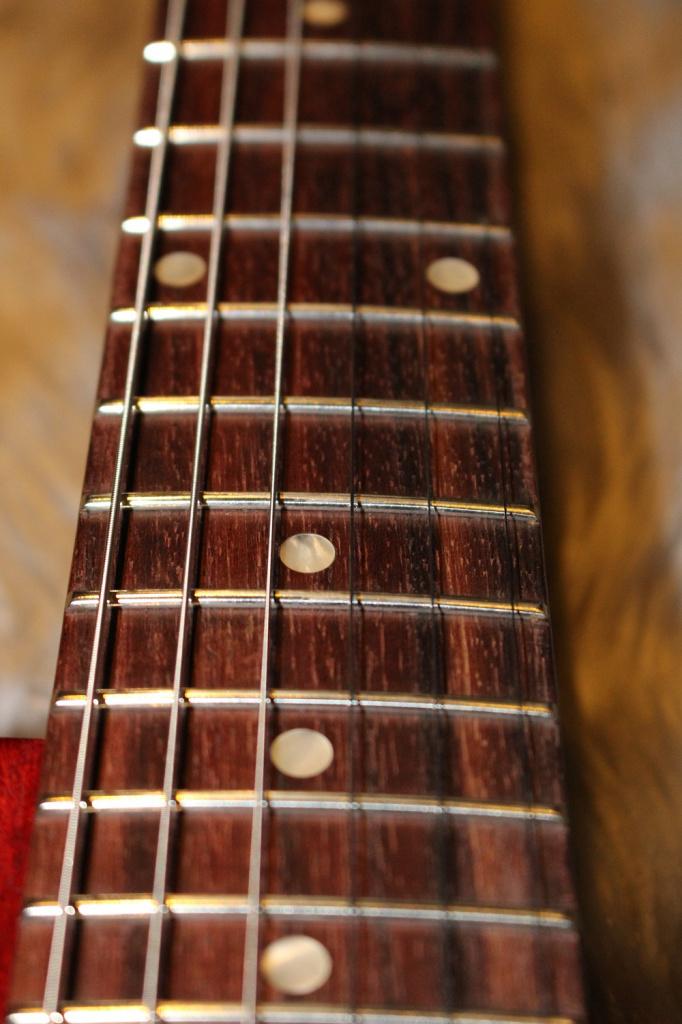 Gibson LP Faded 2018の指板画像
