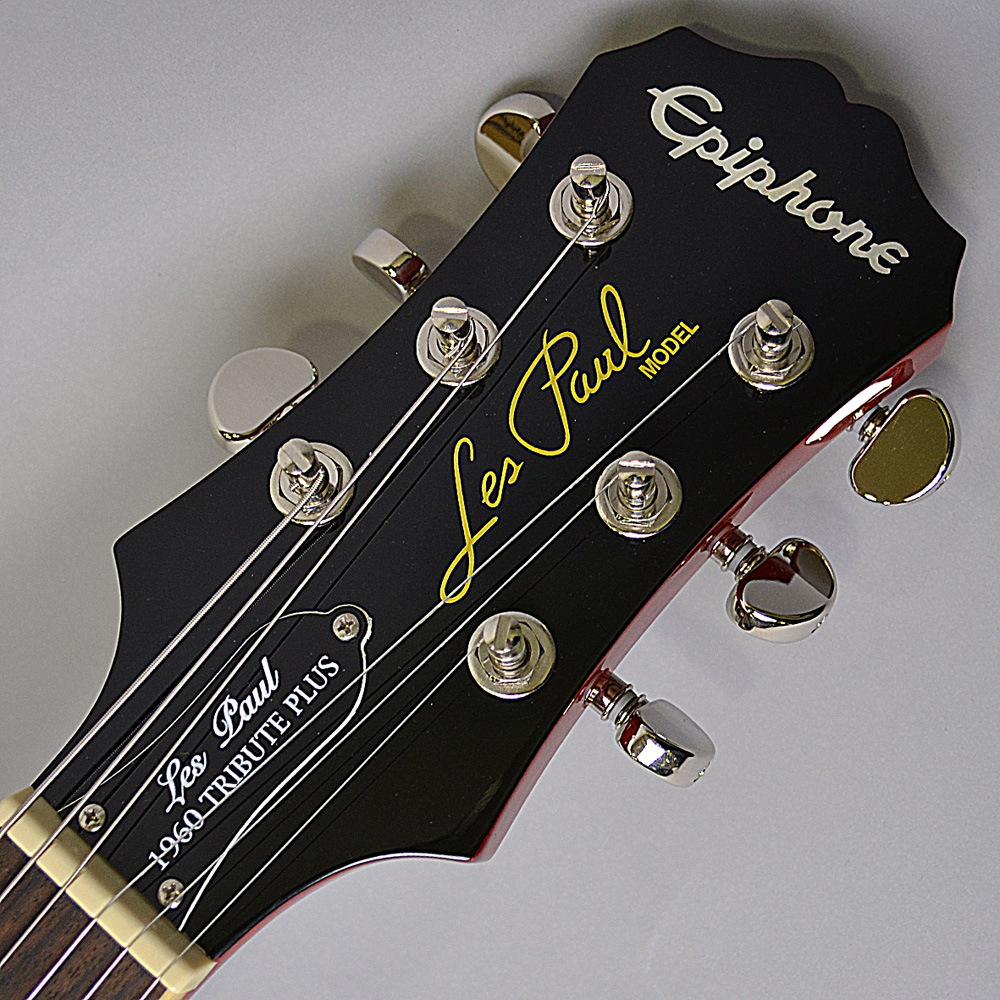 Les Paul TRIBUTE Plus Outfit Faded Cherryのヘッド画像