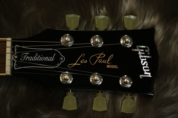 Gibson-Les Paul Traditional 2016のヘッド画像