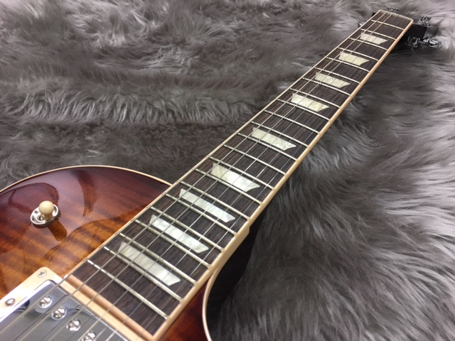 Les Paul Standard T 2017 Bourbon Burstの指板画像