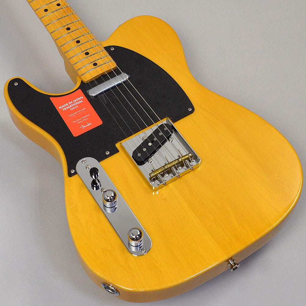 MADE IN JAPAN TRADITIONAL 50S TELECASTER LEFT-HANDのボディトップ-アップ画像