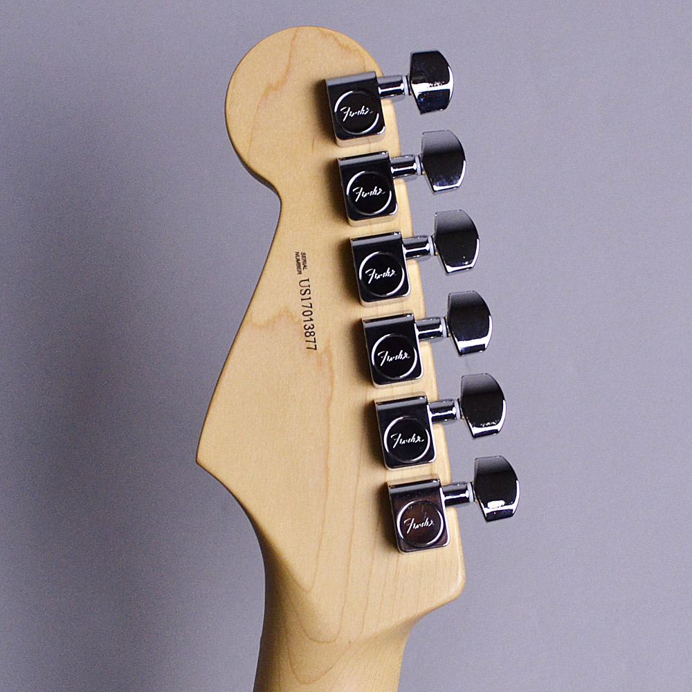 American Professional Stratocasterのヘッド裏-アップ画像